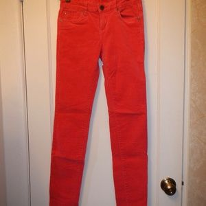 Kut from the Kloth red corduroy paints Size 4